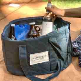 Waxed Canvas Cooler Bag