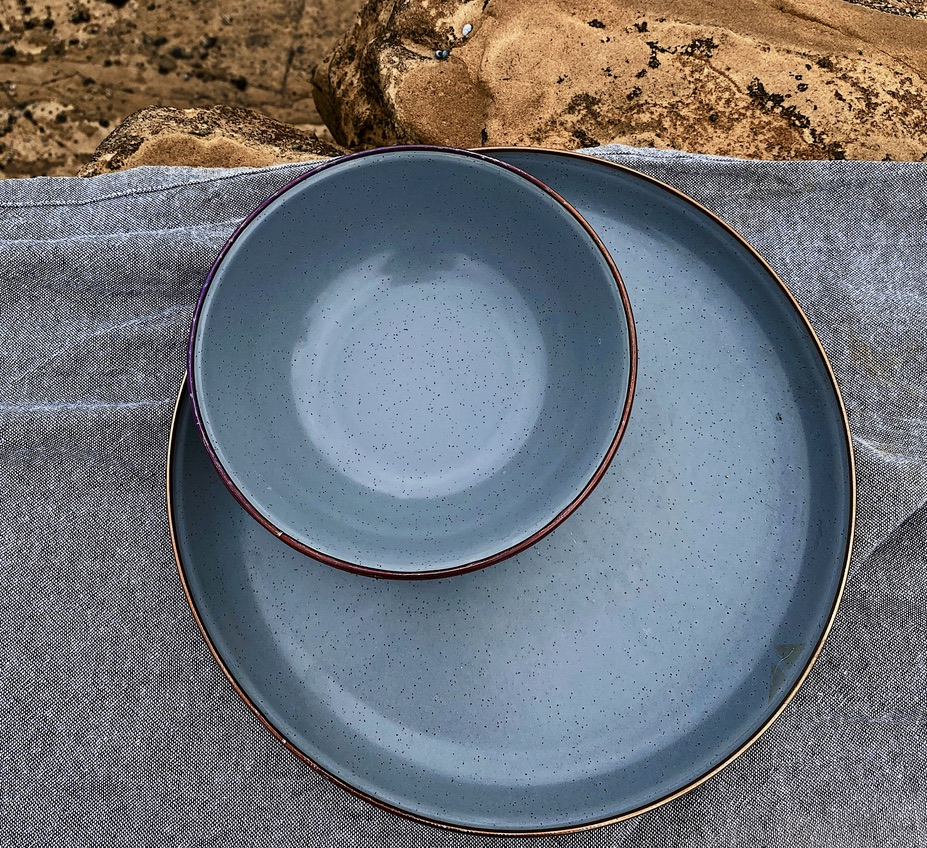 Enamel Plates from above