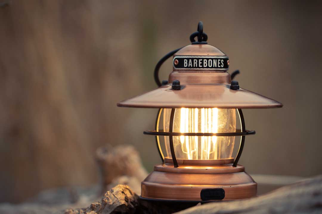 Mini LED Lantern in Copper colour
