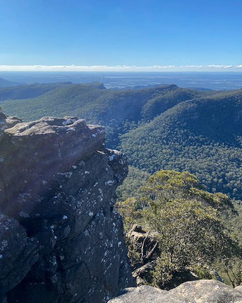 Pinnacle Lookout from Mount Rosea