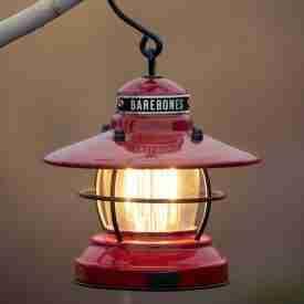 Red Mini USB LED Lantern hanging