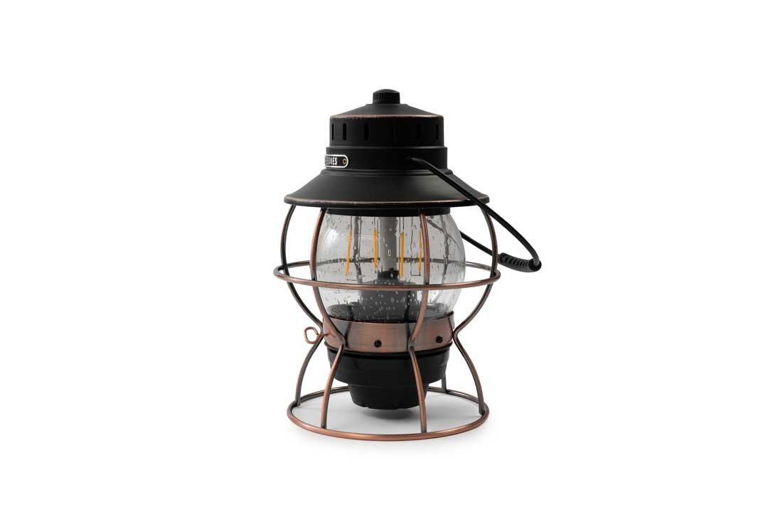 Bronze Stainless Steel and Glass LED Lantern