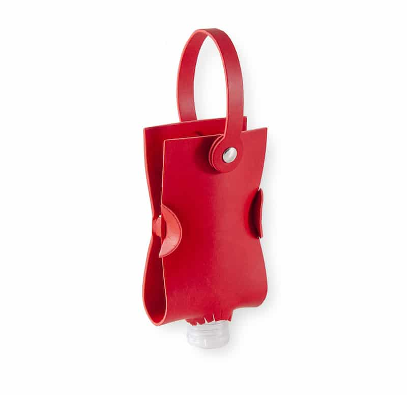 Red Hand Gel Bag