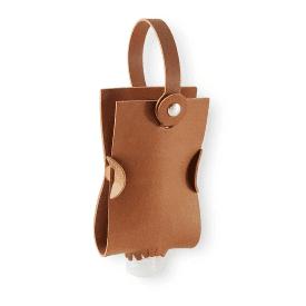 Tan Hand Gel Bag