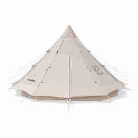 Canvas Tent cream