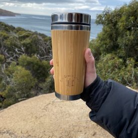 Eco Green Spirit Bamboo Coffee Mug