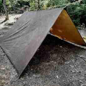 Genuine Nessmuk Oilskin Tarp Tent