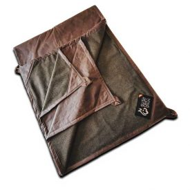 Oilskin Canvas Rug with Wool Cashmere Lining