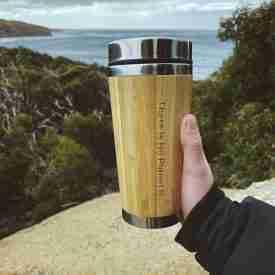 There is no Planet B Bamboo Coffee Mug
